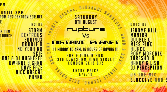 Rupture Vs Distant Planet