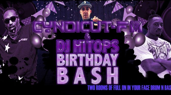 Cyndicut FM & Hi Tops Bday Bash