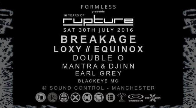 Formless presents Rupture