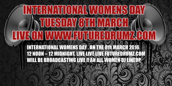 International Womens Day – Tues 8th March