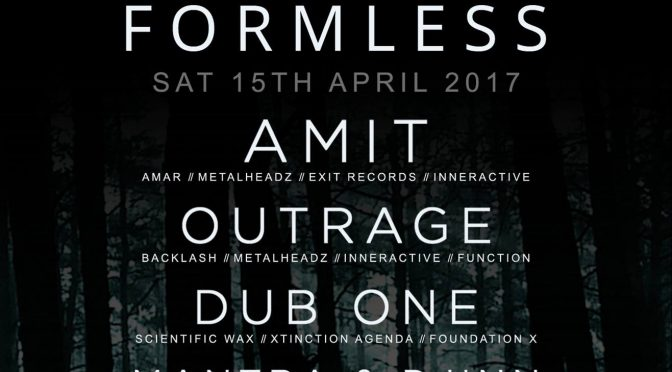 Formless – Saturday 15th April