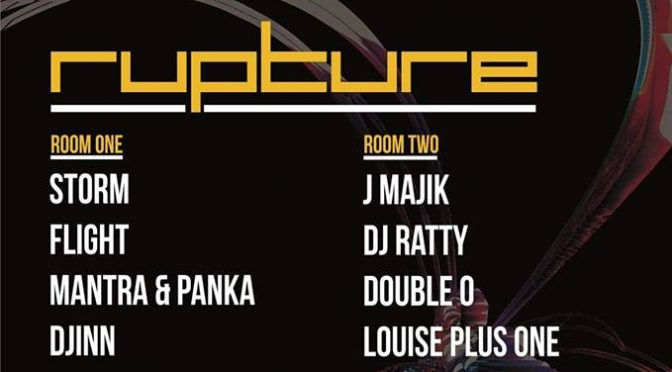 Rupture – Friday 8th March