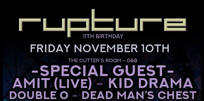 Rupture 11th Birthday