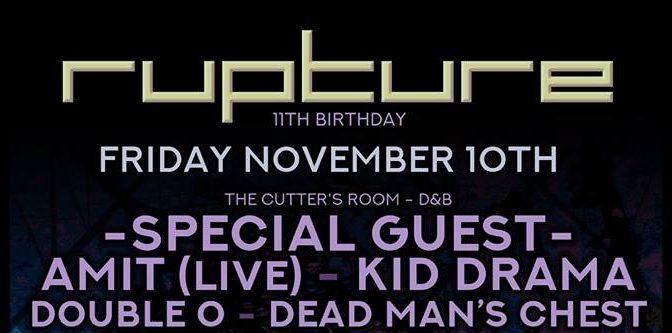 Rupture 11th Birthday